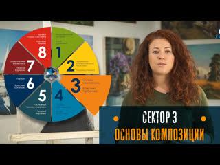 Магистратура Живописи - Кристина Горубнова. Сектор 3. Основы композиции