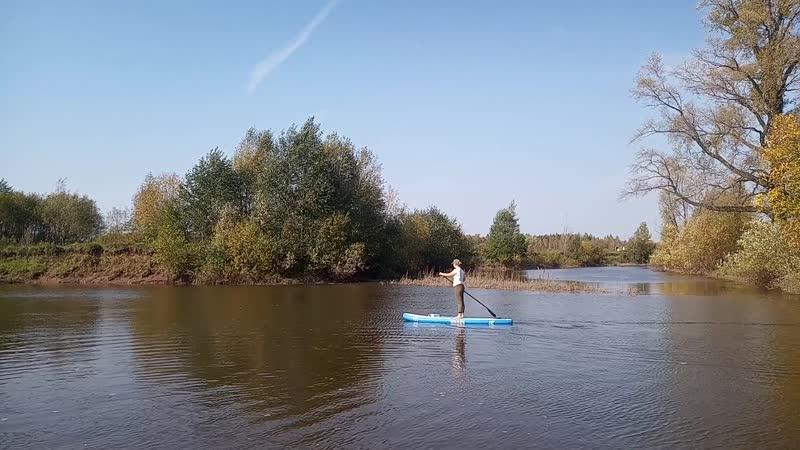 Сплав на сапах по реке Ласьва