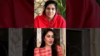 Katrina Kaif live session with moj beauty con and beauty united founder