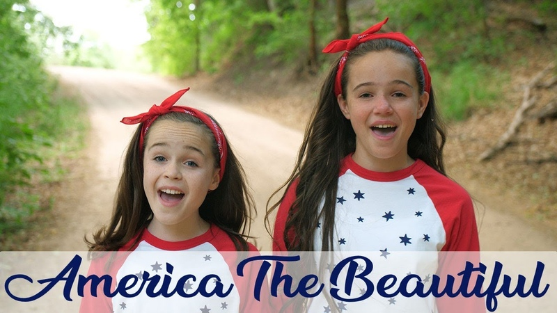 America the Beautiful - cover by Annalie Johnson of One Voice Children's Choir and her sister Abby