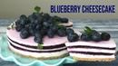 No-Bake Blueberry cheesecake 노오븐 블루베리 치즈케이크 만들기