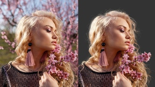 Cut Out Hair from Extremely Busy Background! - Photoshop Tutorial