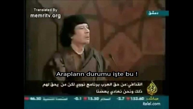Biz Kaddafiyi neden öldürdük