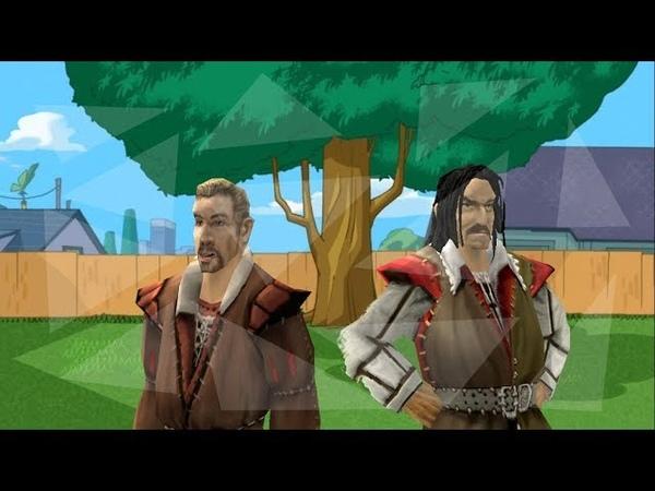 Fineasz i Ferb mają dziś flashbacki z Khorinis (gothic przeróbka)