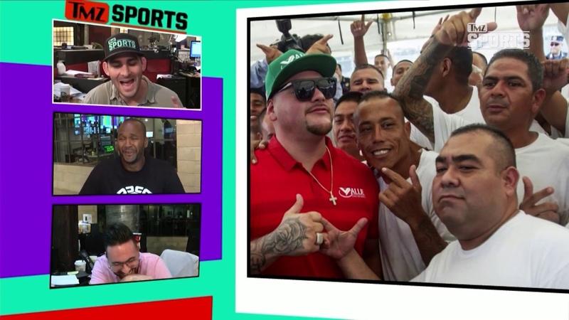 Andy Ruiz Visits Mexican Prison Inmates to Celebrate 30th Birthday TMZ Sports