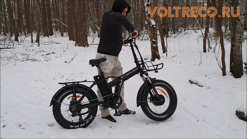 Электровелосипед Фэтбайк EVERIDER Explorer 2000w AWD 2x2 Полный привод 2019 Voltreco.ru