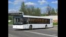 Автобус Минска МАЗ-203, гос.№ АС 1739-7, марш.144с (11.01.2019)