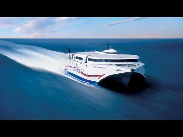 Normandie Express - Brittany Ferries High Speed Ferry