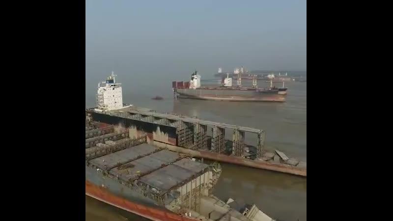 Последнее пристанище кораблей 😔