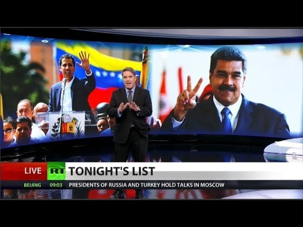 Trump names new Venezuelan President chaos ensues