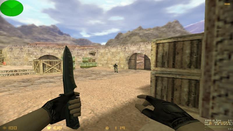 Прострелы (B plant) из верхней тёмки c AK47