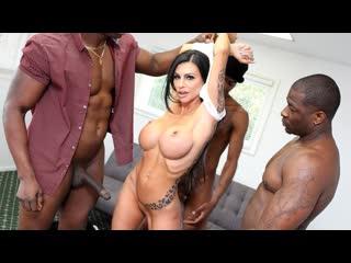 Melissa Lynn - 3 BBC on 1 Girl