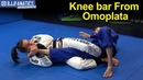 Knee Bar From Omoplata BJJ Training Video by Luiza Monteiro