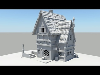 Autodesk Maya 2014 Tutorial Old House Modeling Part 6