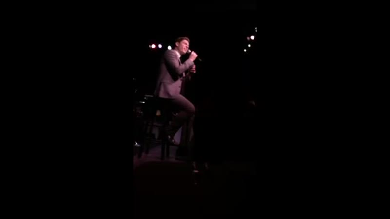 Derek Klena @ Café Carlyle 1 15 2019 Always Remember Us This Way A Star Is Born