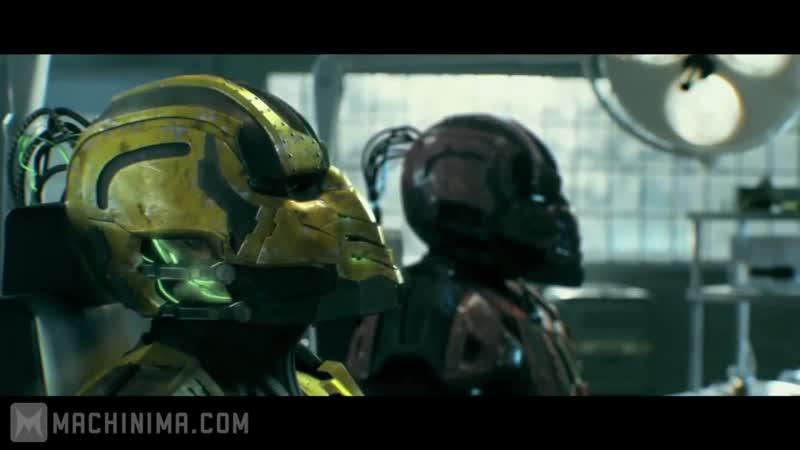Mortal Kombat_ Legacy - Cyrax Sektor Skrillex _ Смертельная битва_ Наследие