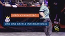 Jordi vs Wingzero Eight Finals ONE ONE BATTLE INTERNATIONAL 2019