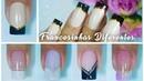 Passo a passo 5 Francesinhas Diferente French nails Aline Makelyne