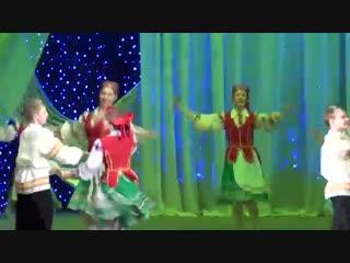 201504 Белорусский танец Лявониха