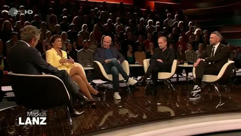 Die vergiftete Diskussion Sahra Wagenknecht 12.09.2019 Markus Lanz - Bananenrepublik [360p]