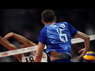 Monstr vertical jump viktor poletaev vs usa vnl 2019