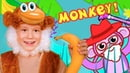 Monkey Banana Dance Baby Monkey Dance Along Songs for Children by Tim and Essy