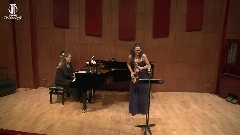 Verdiana performed Asya Fateeva alto sax and Daria Tchaikovskaya piano
