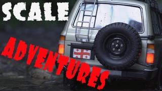 Scale Adventures Toyota Land Cruiser 80vx Likani Georgia travel