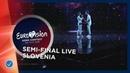 Slovenia LIVE Zala Kralj Gašper Šantl Sebi First Semi Final Eurovision 2019