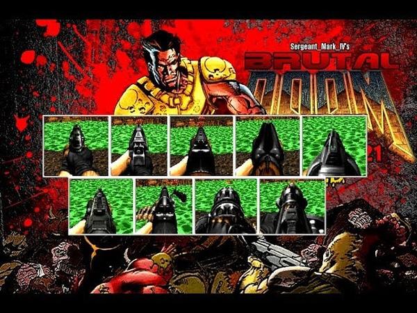 Brutal Doom v21 Gold PC More realistic weapon sound with Download Link