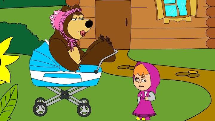 KuTstupid - Маша и Медведь. Ступид пародия