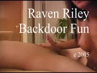 Raven riley backdoor fun