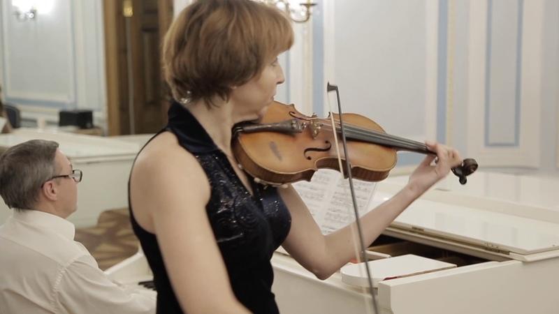 Adios Nonino (А. Пьяццолла) - Людмила Рогова, Вадим Шашкин (Фортепиано, скрипка)