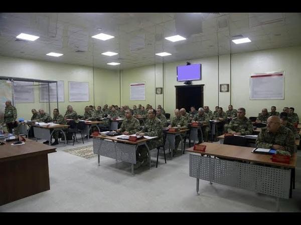 Müdafiə nazirinə təlimlərin gedişi barədə məruzə edilib - 18.09.2019