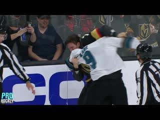 Хоккейные драки: Valentin Zykov vs EVANDER KANE | 30 Сентября, 2019