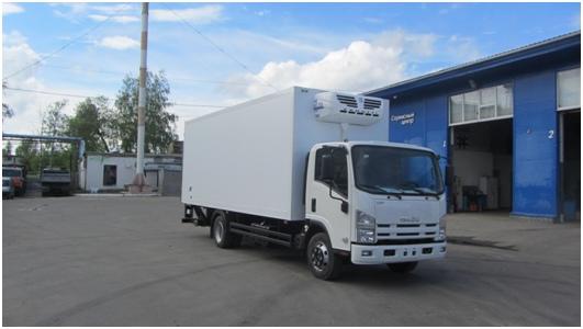 Фургон-рефрижератор по перевозке температурных грузов с поддержанием температуры