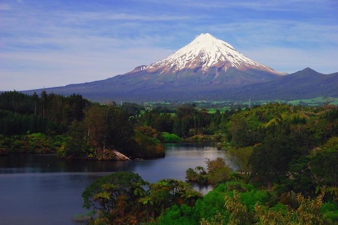 Вулкан Таранаки в Новой Зеландии, изображение №4