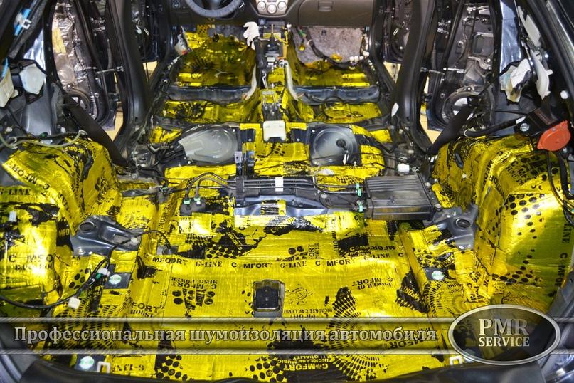 Комплексная шумоизоляция Subaru Impreza, изображение №7