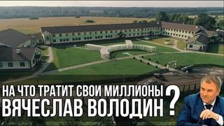 На что тратит свои миллионы Вячеслав Володин?