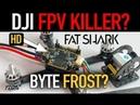 DJI DIGITAL FPV SYTEM KILLER? - ALREADY - Fatshark Byte Frost