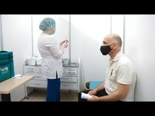 Вакцинация от COVID-19 в торговых центрах