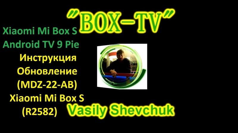 Xiaomi Mi Box S Android TV 9 Pie Инструкция Обновление (MDZ-22-AB) Xiaomi Mi Box S (R2582)