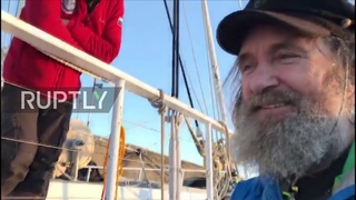 Chile: Russian explorer completes 154-day South Pacific solo voyage