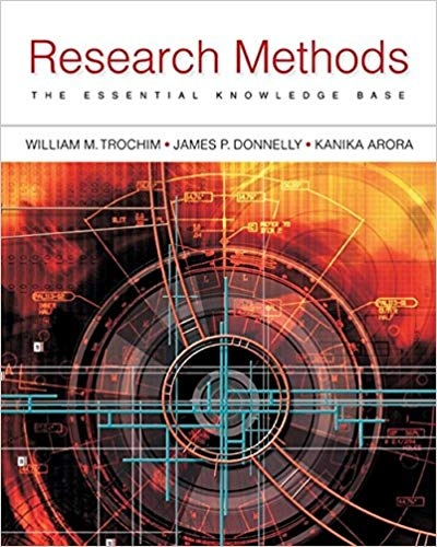 Trochim & Donnelly & Kanika Arora - Research Methods  The Essential Knowledge Base (0)