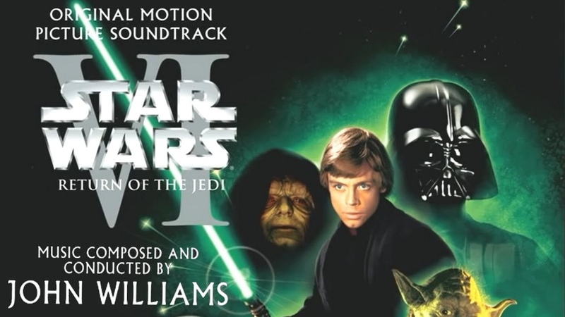 Star Wars Episode VI Return Of The Jedi (1983) Soundtrack 11 Speeder Bike Chase, Land of the Ewoks