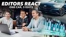 3 Different Car Ad Edits Using Same Footage Hyundai Sonata 2020