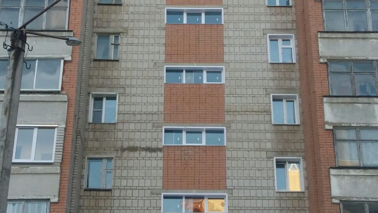 Улица Московская дом 103 подъезд 2 установка