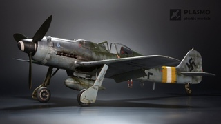 Focke Wulf Fw-190 D-9 Hasegawa 1/32 - Aircraft Model