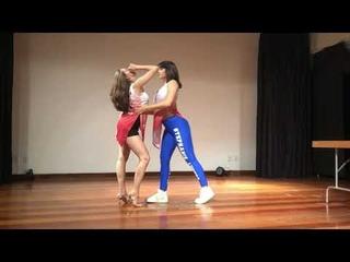 Stephanie Lucero & Giovana Brandi bachata São Paulo Brasil dj Khalid Congreso Bachata buena