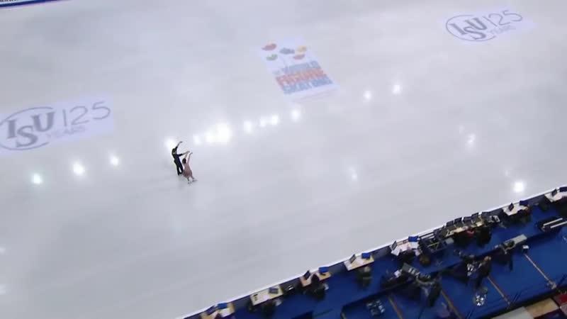 أجمل رقصة على الجليد مع اغنية رمنسية لماجدة الرومي 720P HD mp4